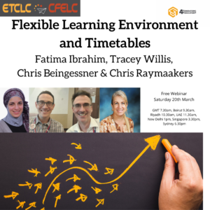 flexible learning environment and timetables